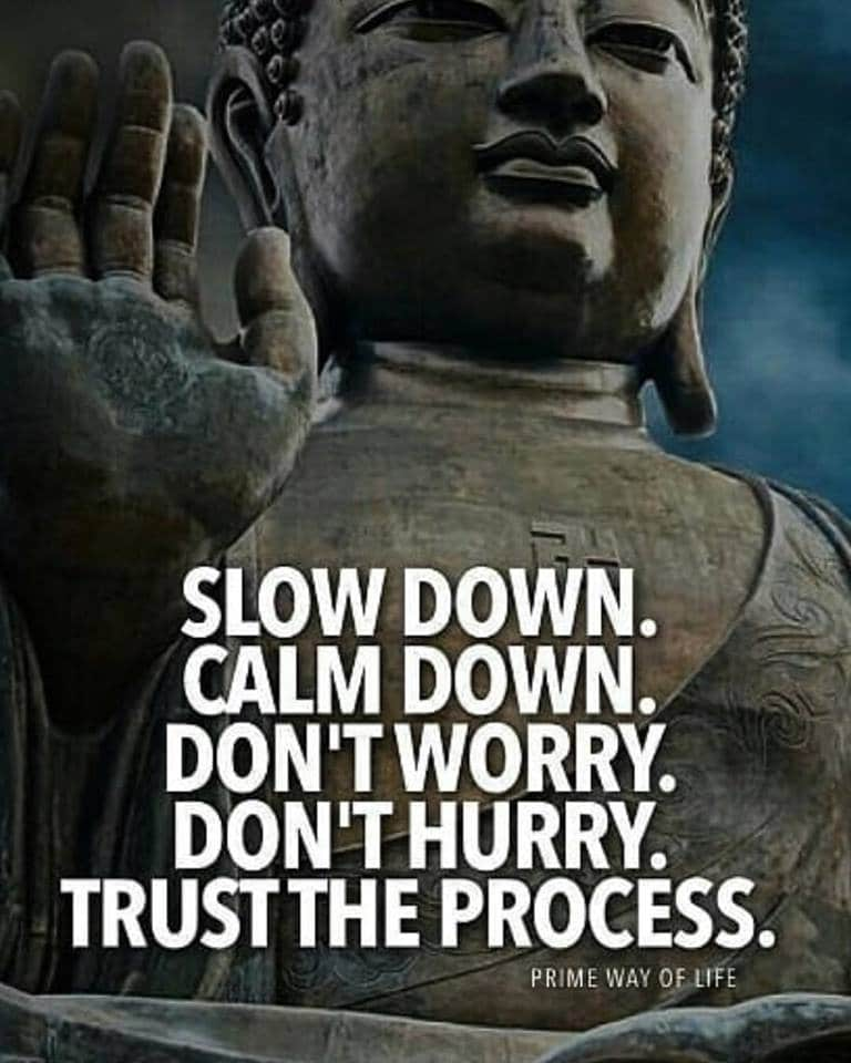 and trust the process!